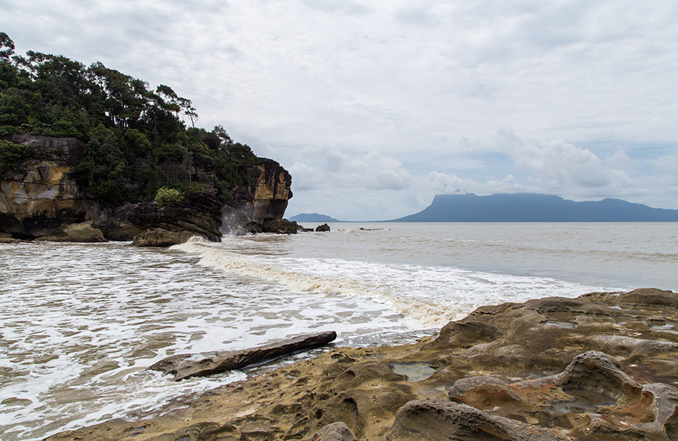 Fabian Fröhlich, Borneo, Bako National Park, Beach at the end of Telok Pandan Kecil Trail