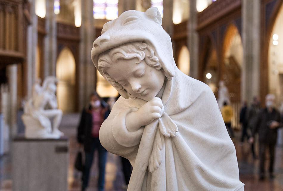 Berlin, Museen und Corona, Friederichswerdersche Kirche, Emil Wolff, Der Winter