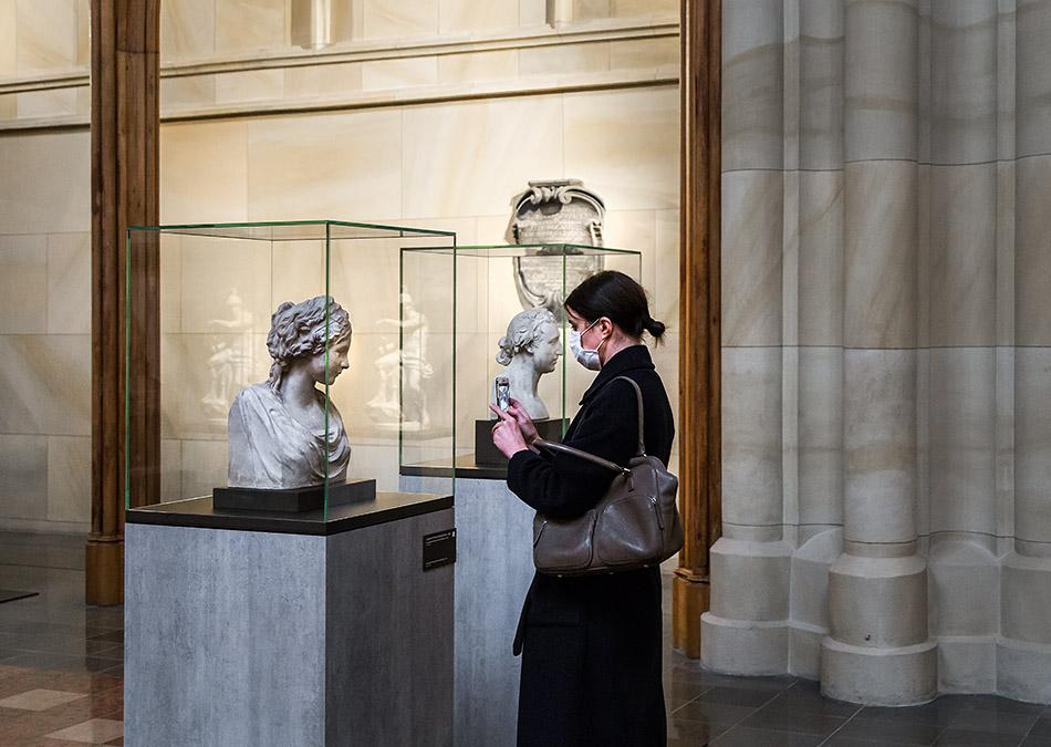 Berlin, Museen und Corona, Friedrichswerdersche Kirche, Johann Gottfried Schadow, Prinzessin Friederike Von Preußen