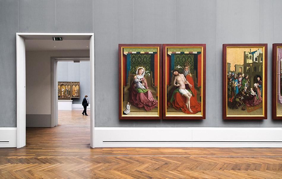 Berlin, Museen und Corona, Gemäldegalerie, Meister der Darmstädter Passion