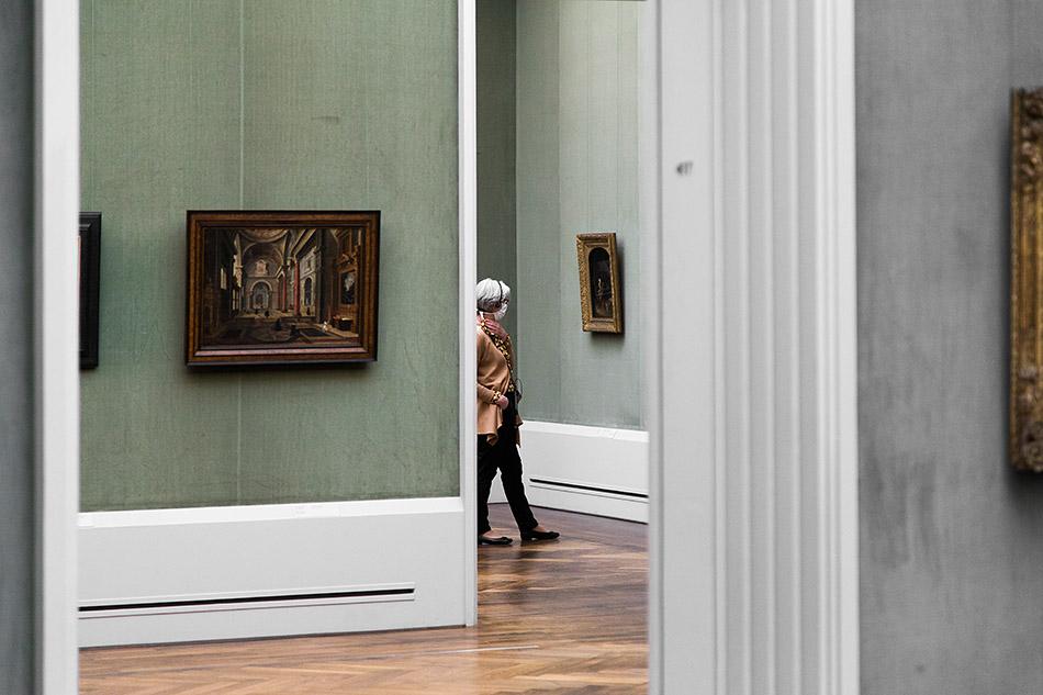Berlin, Museen und Corona, Gemäldegalerie