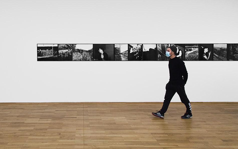 Berlin, Museen und Corona, Hamburger Bahnhof, Michael Schmidt – Retrospective Photographs 1965—2014