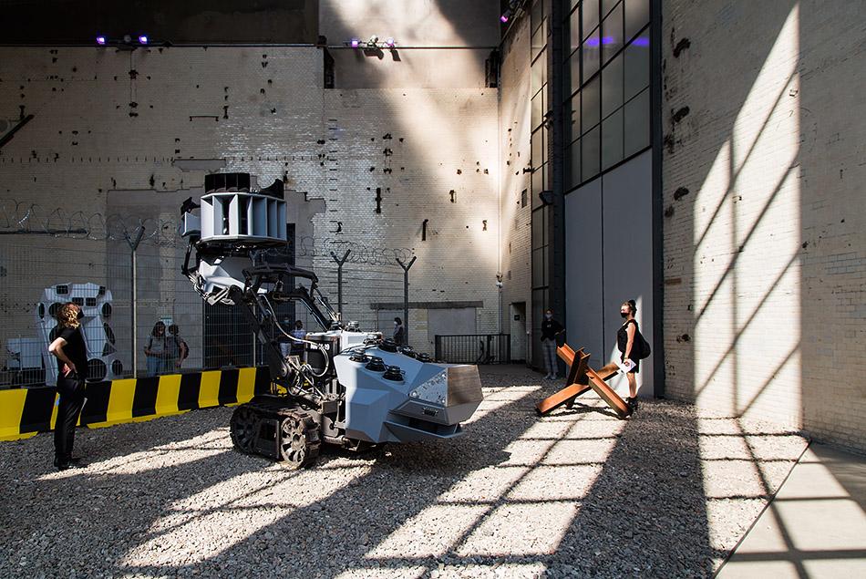Berlin, Museen und Corona, KINDL – Zentrum für zeitgenössische Kunst, NIK NOWAK, Schizo Sonics