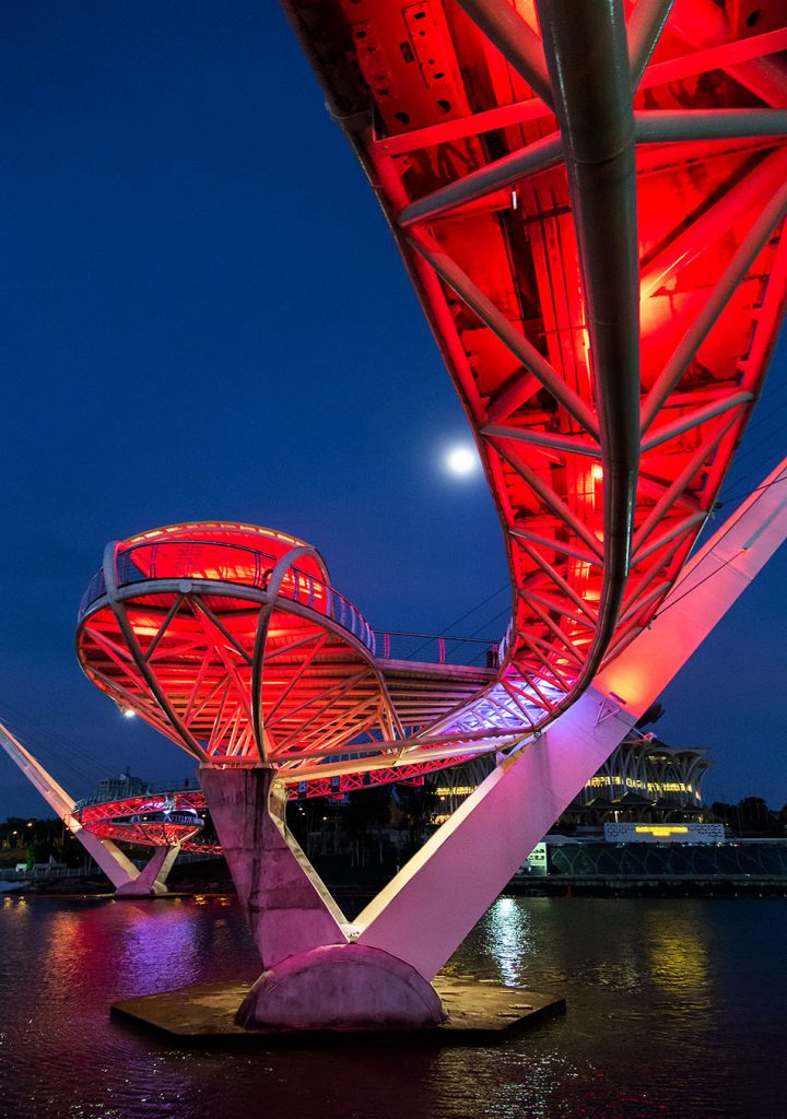 Fabian Fröhlich, Malaysia, Kuching, Darul Hana Bridge