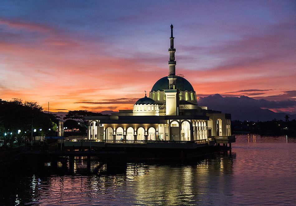 Fabian Fröhlich, Malaysia, Kuching, Masjid India (Floating Mosque)