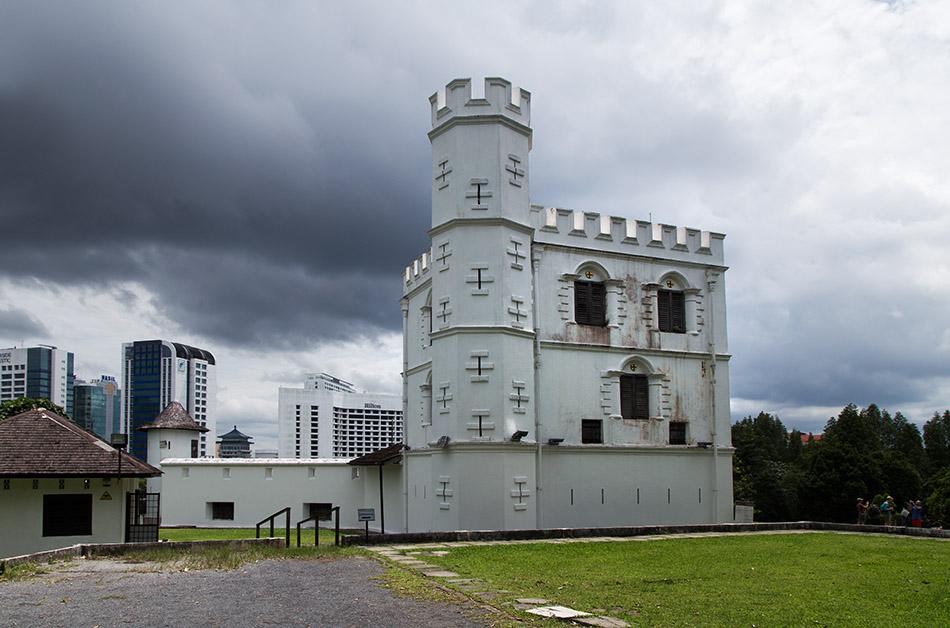 Fabian Fröhlich, Malaysia, Kuching, Fort Margherita
