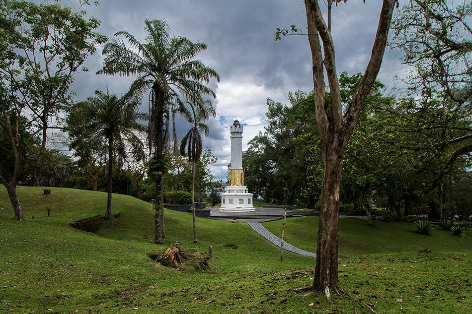 Fabian Fröhlich, Malaysia, Kuching, Heroes Memorial Park