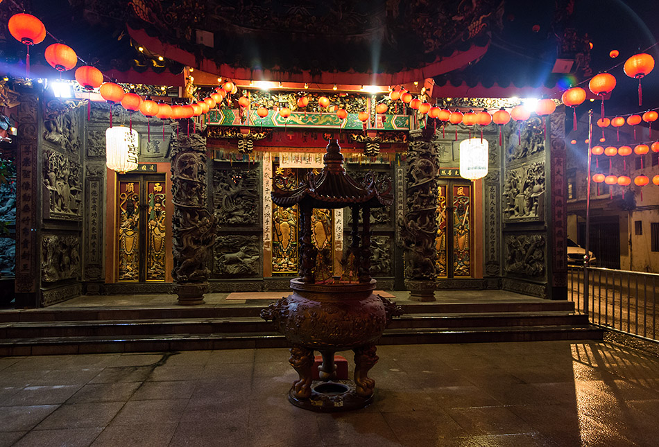 Fabian Fröhlich, Malaysia, Kuching, Hong San Si Temple