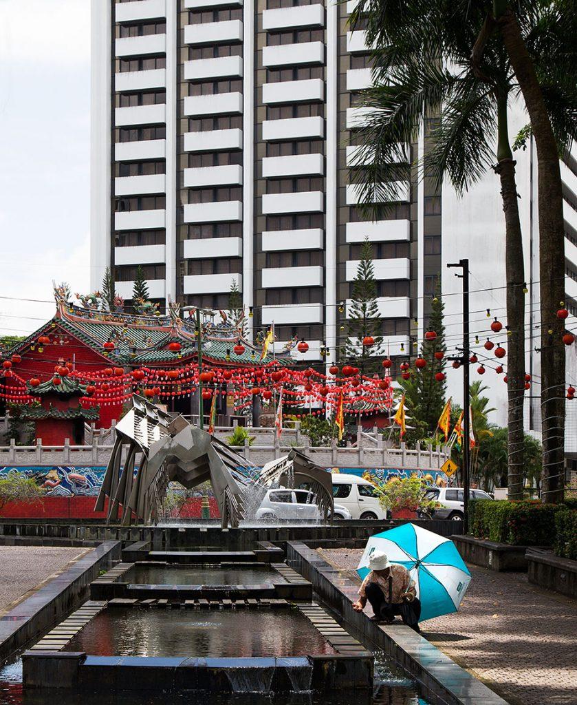 Fabian Fröhlich, Malaysia, Kuching, Hornbill Fountain