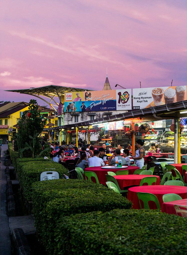 Fabian Fröhlich, Malaysia, Kuching, Jalan Market