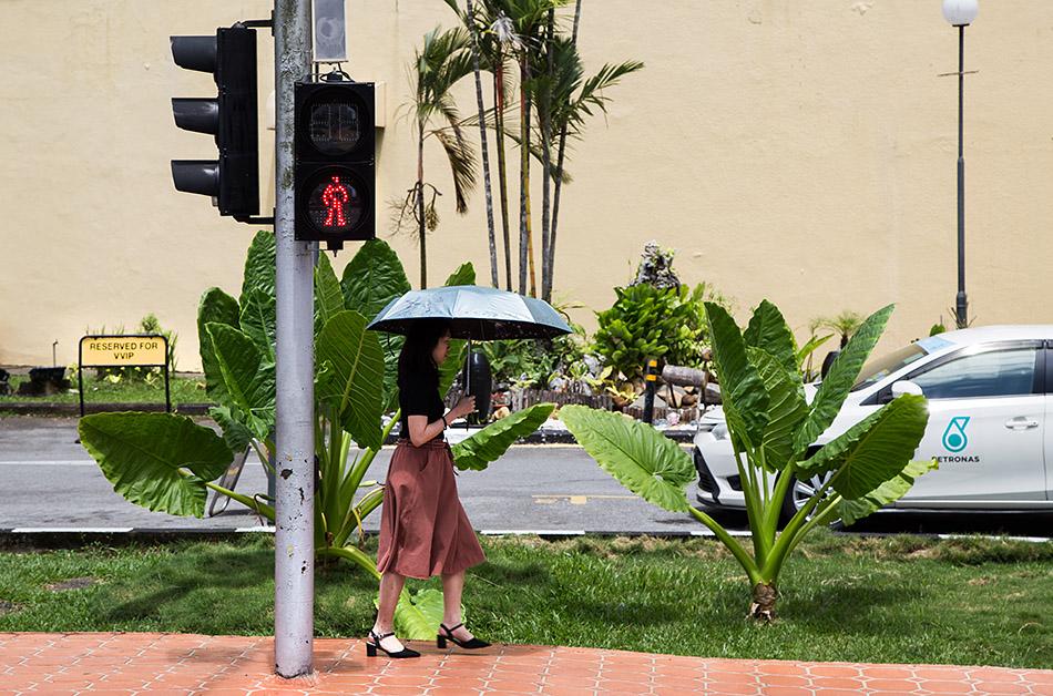 Fabian Fröhlich, Malaysia, Kuching, Jalan Tunku Abdul Rahman