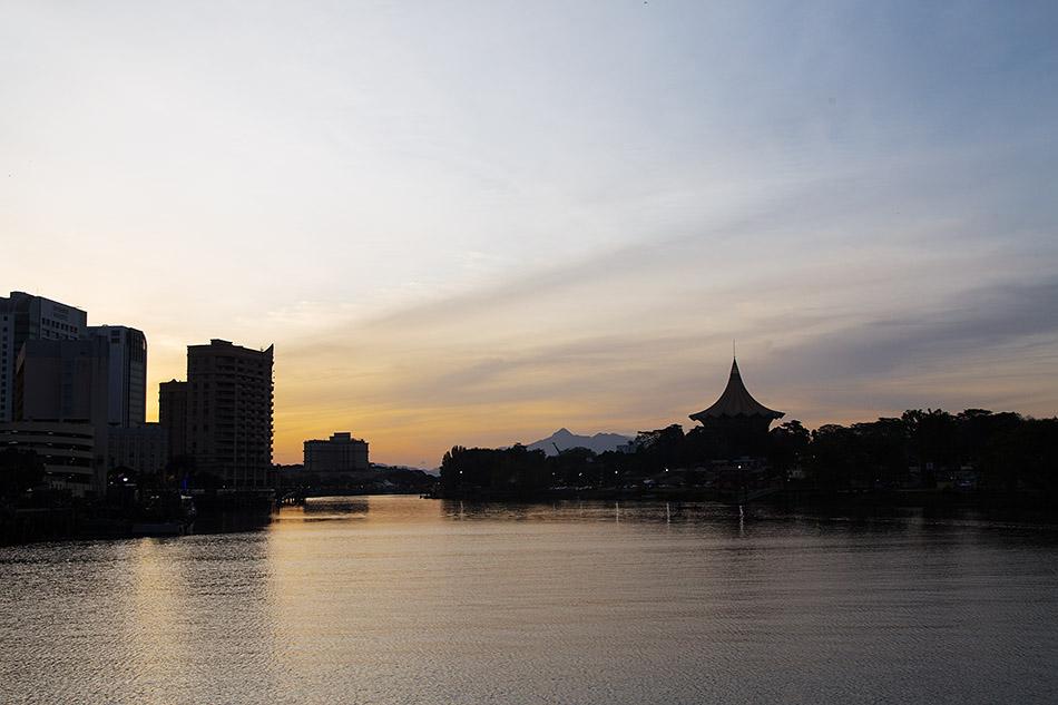 Fabian Fröhlich, Malaysia, Kuching, Sungai Sarawak