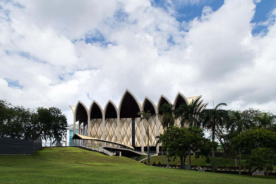 Fabian Fröhlich, Malaysia, Kuching, New Sarawak Museum Complex