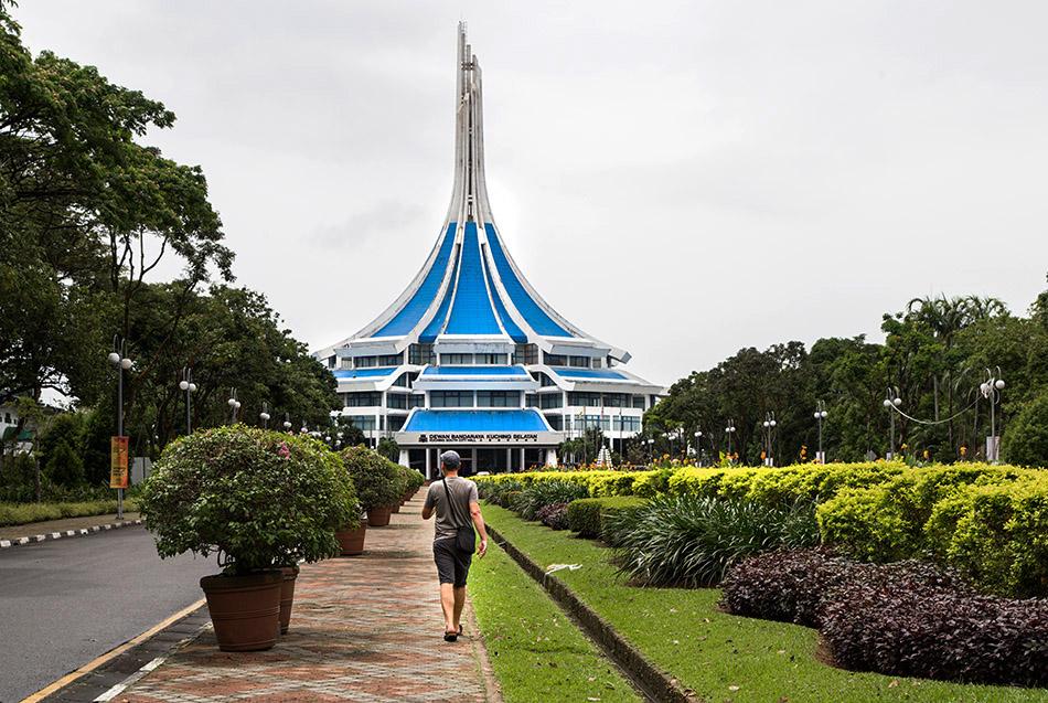 Fabian Fröhlich, Malaysia, Kuching, South City Hall