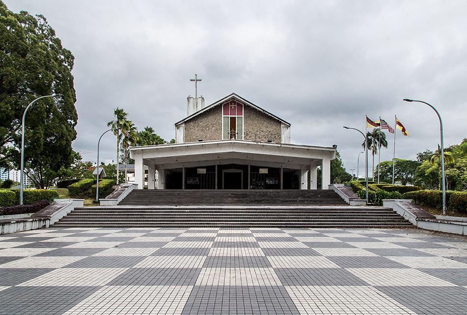 Fabian Fröhlich, Malaysia, Kuching, St. Thomas Cathedral