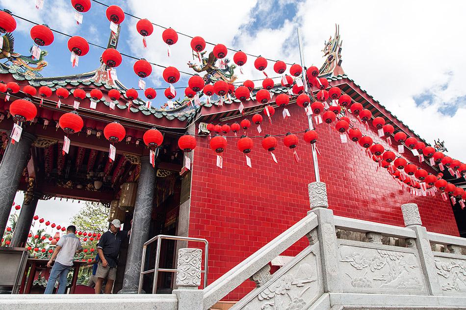 Fabian Fröhlich, Malaysia, Kuching, Tua Pek Kong Temple