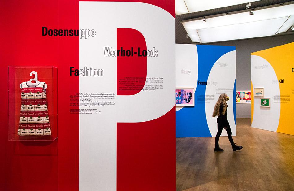Berlin, Museen und Corona, Kulturforum, Exhibition Pop on Paper