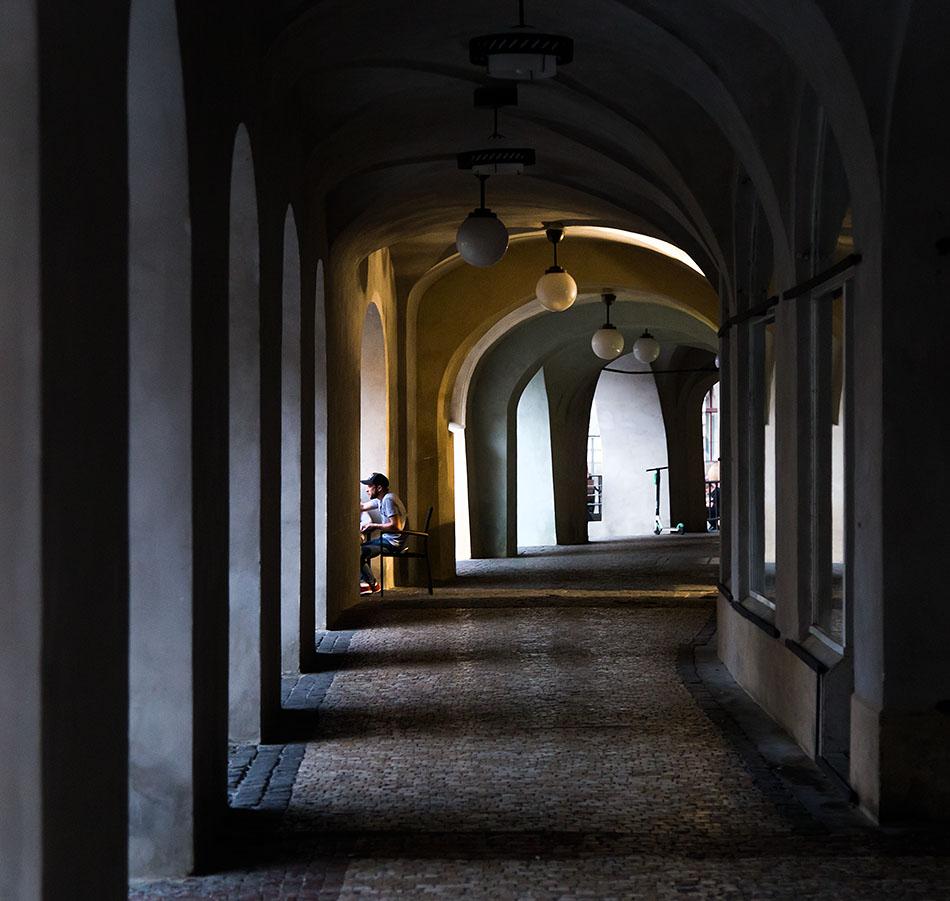 Fabian Fröhlich, Prager Altstadt, Malé náměstí, Arkaden
