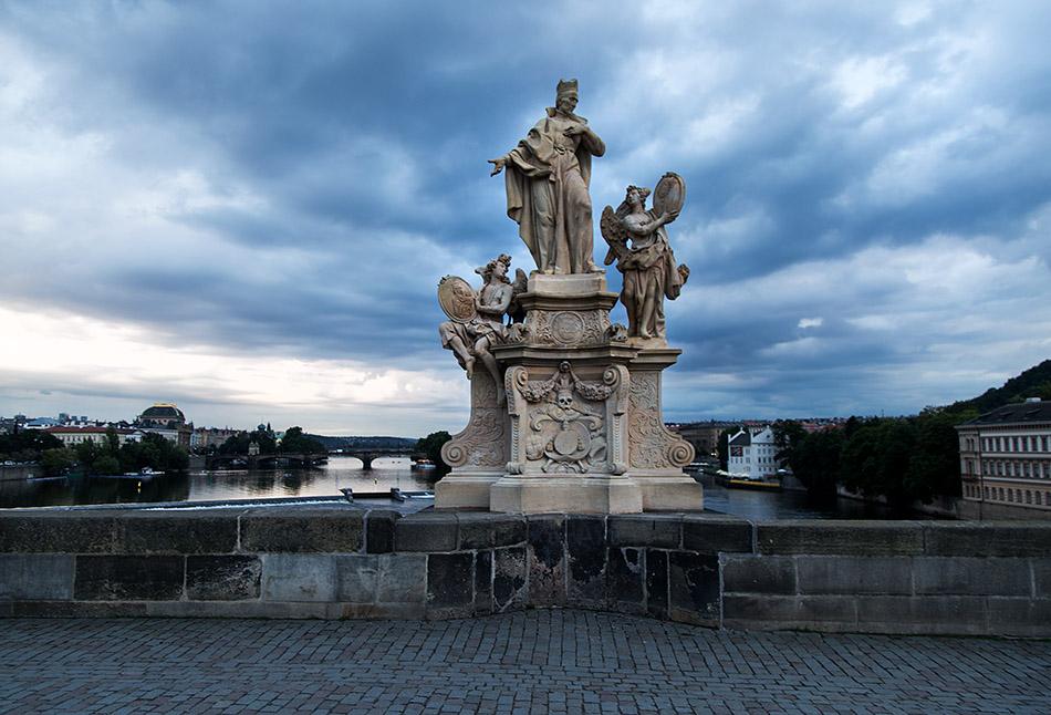Fabian Fröhlich, Prag, Karlsbrücke