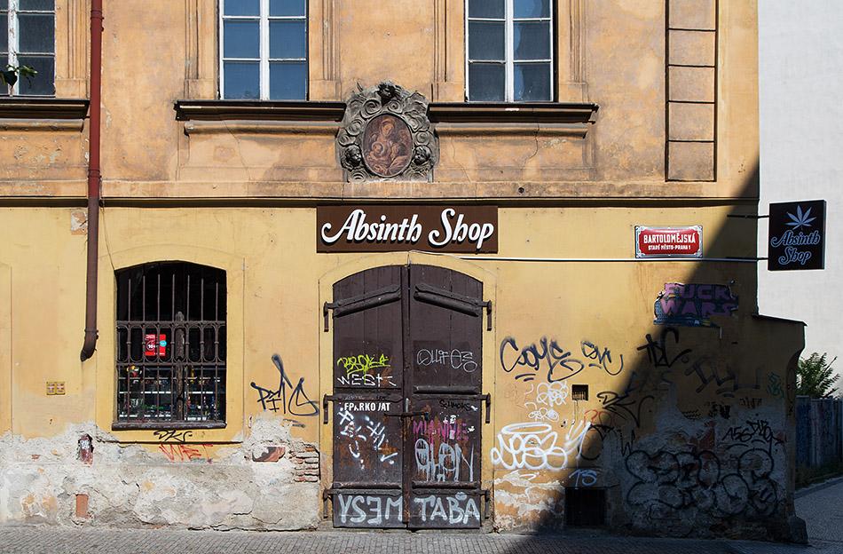 Fabian Fröhlich, Altstadt, Na Perštýně, Absinth Shop