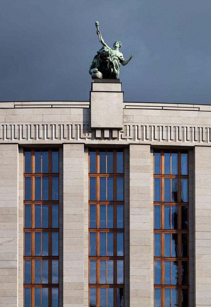Prag, Headquarter der Tschechischen Nationalbank