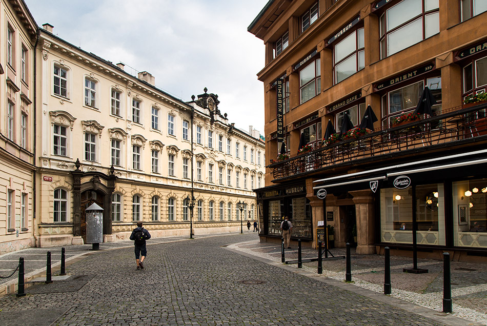 Fabian Fröhlich, Prag, Altstadt, Ovocný trh