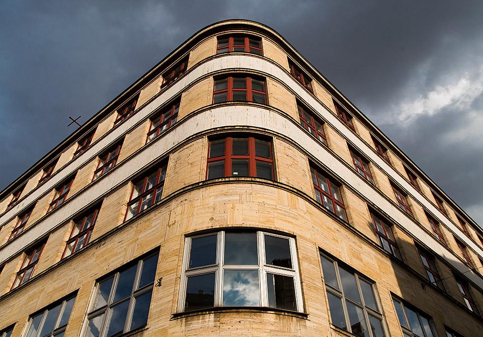Fabian Fröhlich, Prag, Palác Dunaj