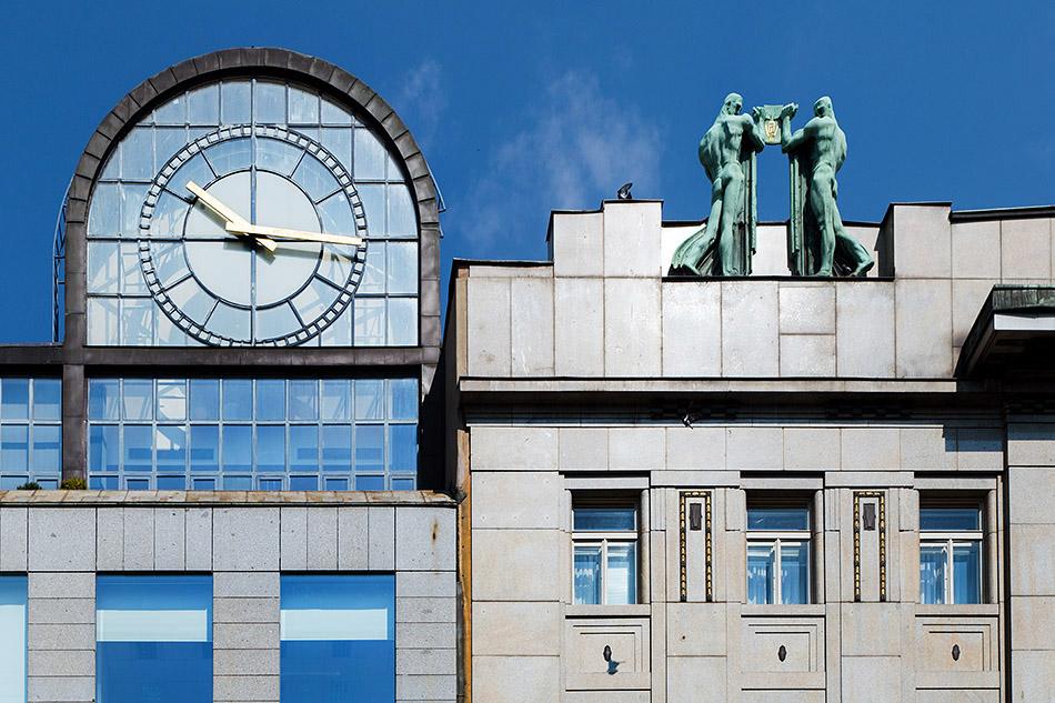 Fabian Fröhlich, Prag, Nové Město, Wenzelsplatz