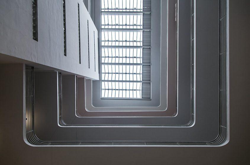 Fabian Fröhlich, Messepalast, Nationalgalerie Prag, Zentrale Halle