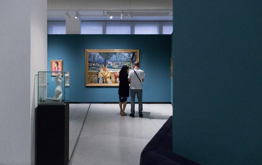 Fabian Fröhlich, Nationalgalerie Prag, Bonnard, Dans le jardin
