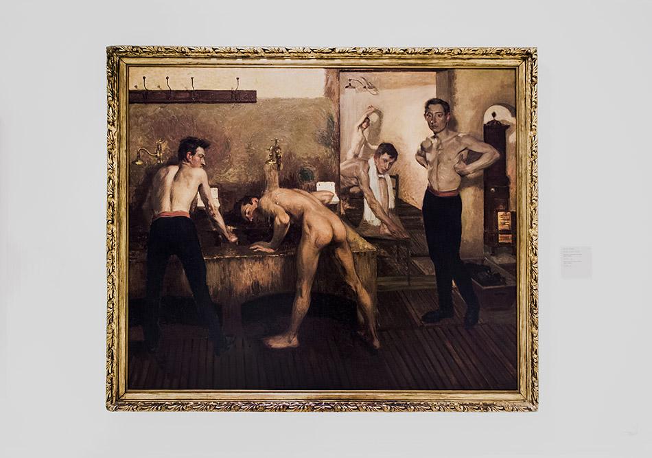 Fabian Fröhlich, Nationalgalerie Prag, Miloš Jiráne, Duschen in der Prager Turnbewegung Sokol I