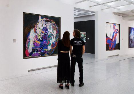 Fabian Fröhlich, Nationalgalerie Prag, Gustav Klimt, Die Jungfrau