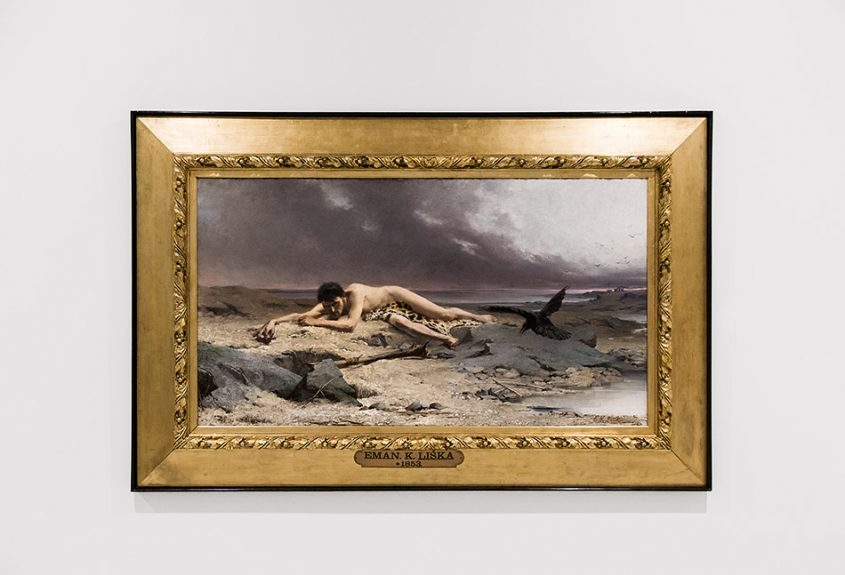 Fabian Fröhlich, Nationalgalerie Prag, Emanuel Krescenc Liška, Kain