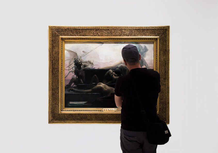 Fabian Fröhlich, Nationalgalerie Prag, Max Pirner, Konec všech věcí - Finis