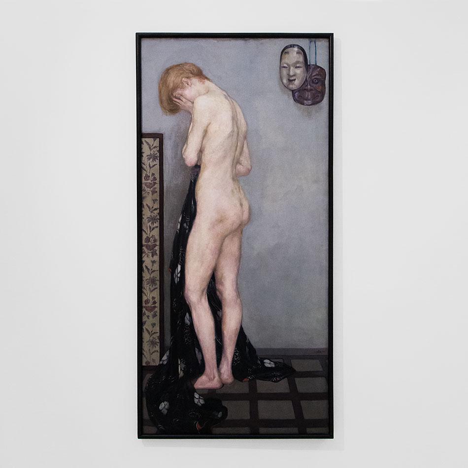 Fabian Fröhlich, Nationalgalerie Prag, Emil Orlik, Modell