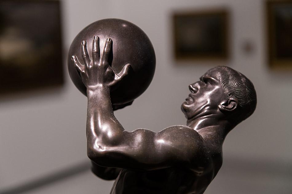 Fabian Fröhlich, Nationalgalerie Prag, Franz von Stuck, Athlet