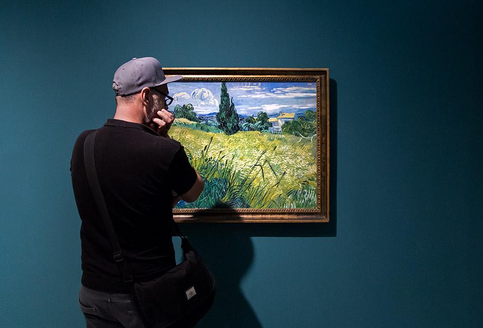 Fabian Fröhlich, Messepalast,Nationalgalerie Prag, Vincent van Gogh, Gründer Mais