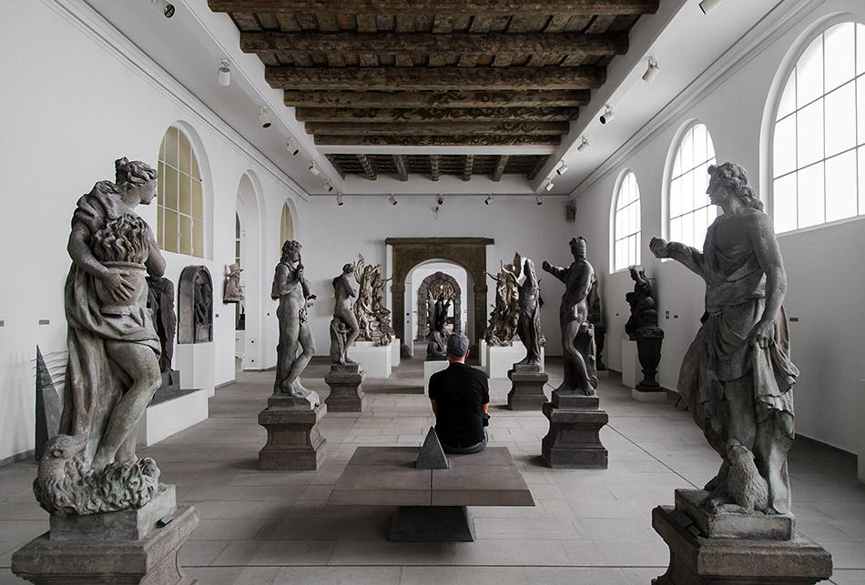 Fabian Fröhlich, Prag, Lapidarium des Nationalmuseums