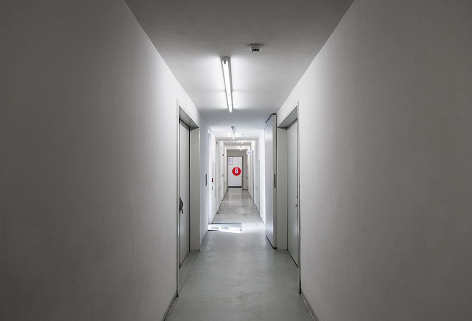 Fabian Fröhlich, Prag, DOX Centre for Contemporary Art, Corridor