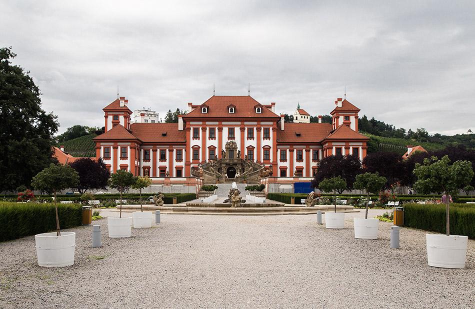 Fabian Fröhlich, Prag, Schloss Troja