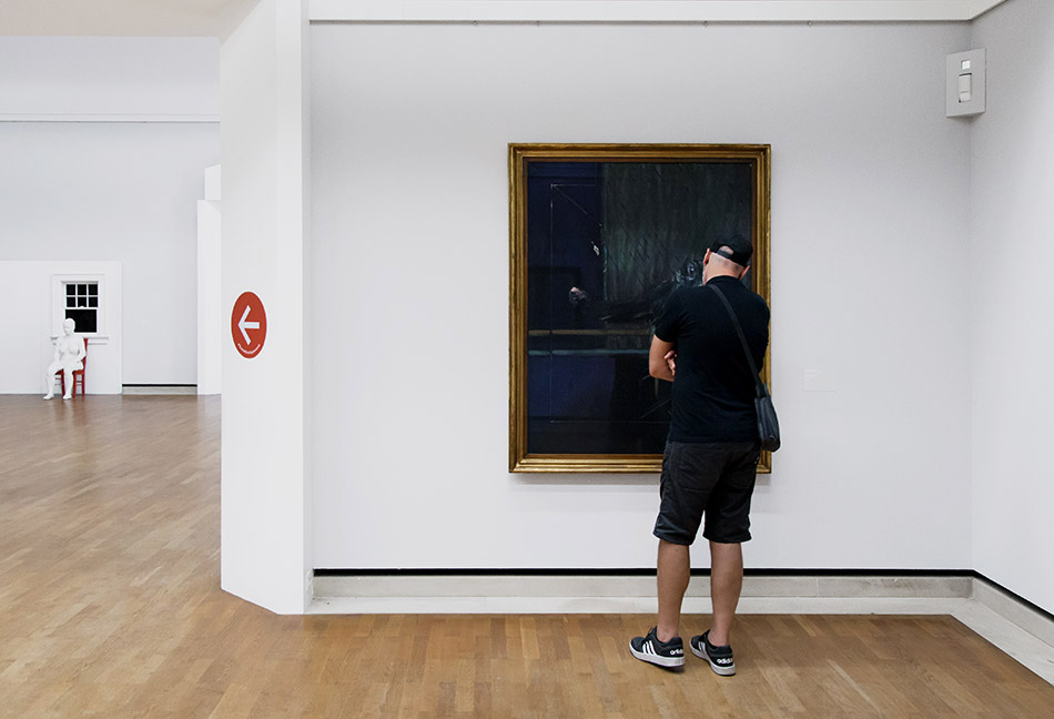 Fabian Fröhlich, Staatsgalerie Stuttgart, Schimpanse
