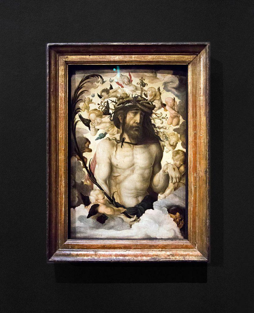 Fabian Fröhlich, Staatsgalerie Stuttgart, Hans Baldung Grien,  Christus als Schmerzensmann