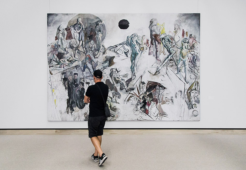Fabian Fröhlich, Staatsgalerie Stuttgart, Max Beckmann, Auferstehung
