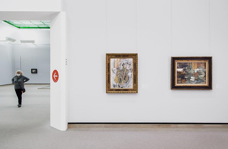 Fabian Fröhlich, Staatsgalerie Stuttgart, George Braque, Violine