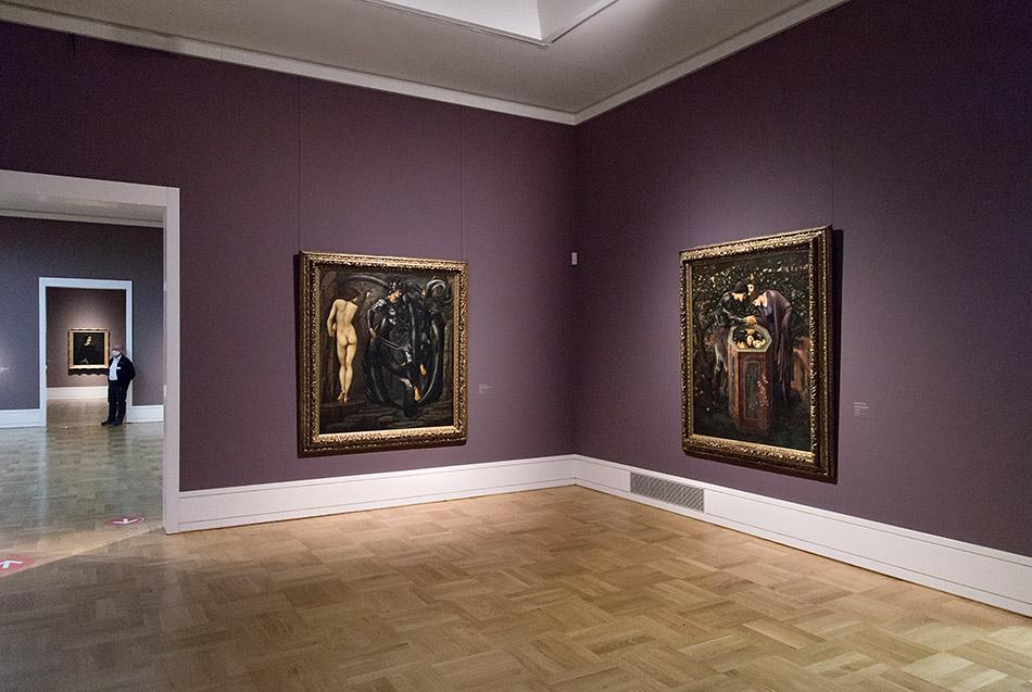 Fabian Fröhlich, Staatsgalerie Stuttgart, Edward Burne-Jones, Perseus-Zyklus, Die Erfüllung des Schicksals, Das Schreckenshaupt