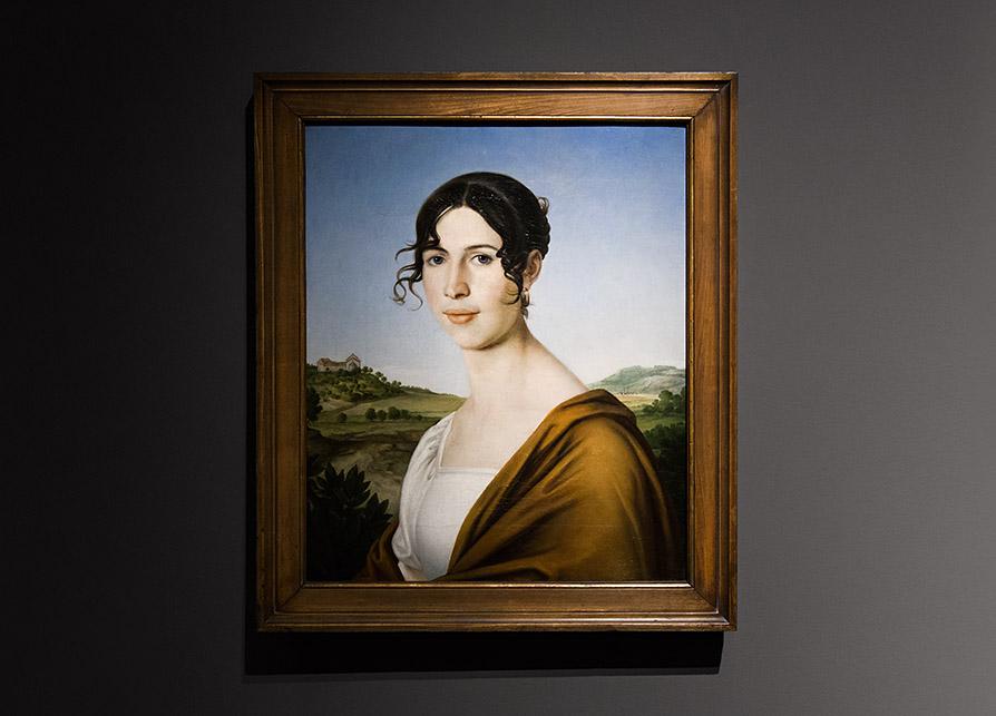 Fabian Fröhlich, Staatsgalerie Stuttgart, Christoph Friedrich Dörr, Portrait einer Unbekannten