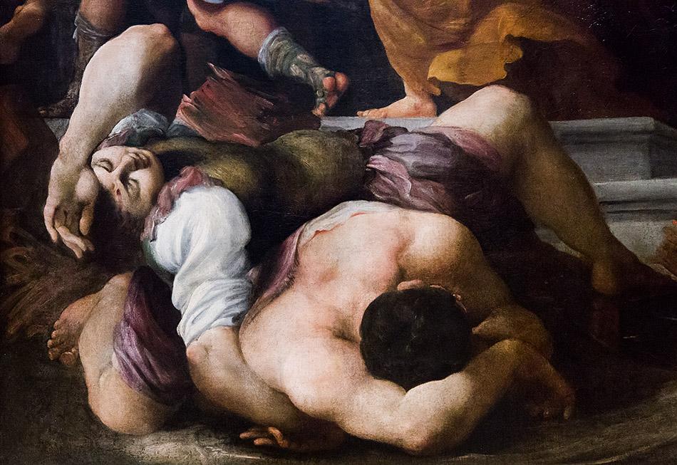 Fabian Fröhlich, Staatsgalerie Stuttgart, Pietro Faccini, Martyrium der Hl. Katharina von Alexandrien