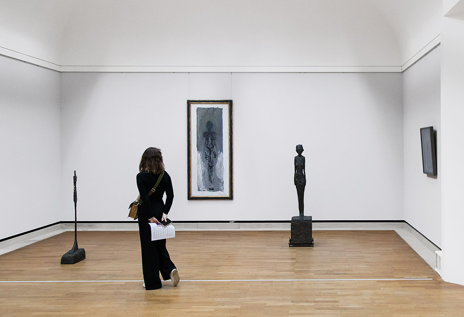 Fabian Fröhlich, Staatsgalerie Stuttgart, Giacometti