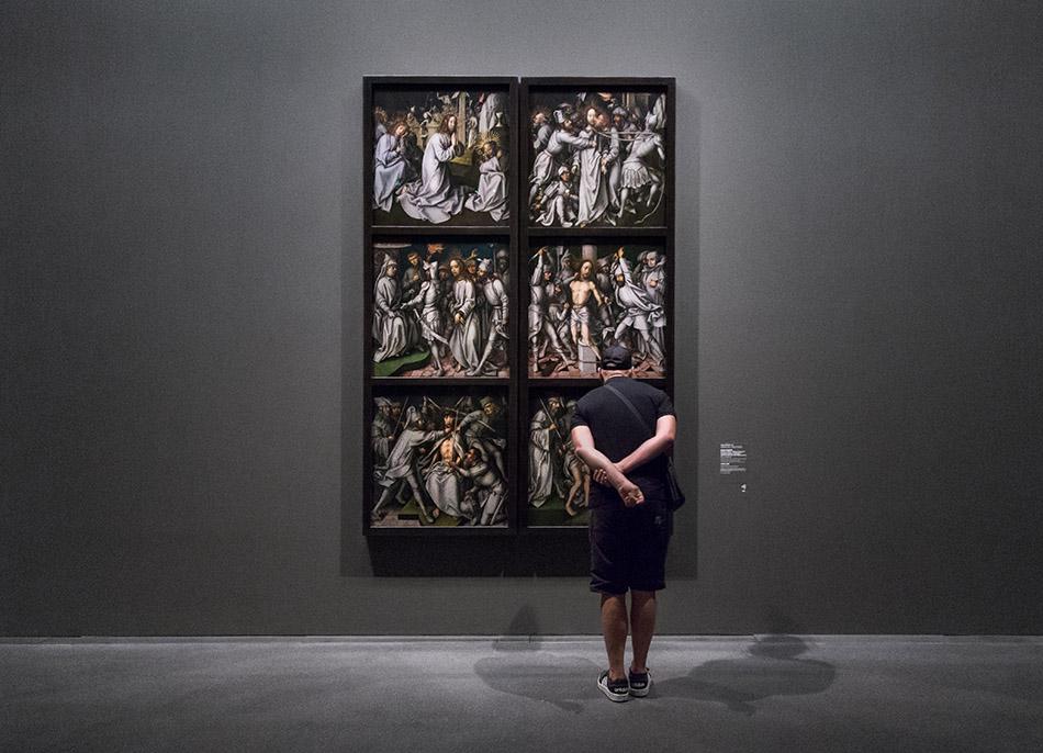 Fabian Fröhlich, Staatsgalerie Stuttgart, Hand Holbein der Ältere, die Graue Passion
