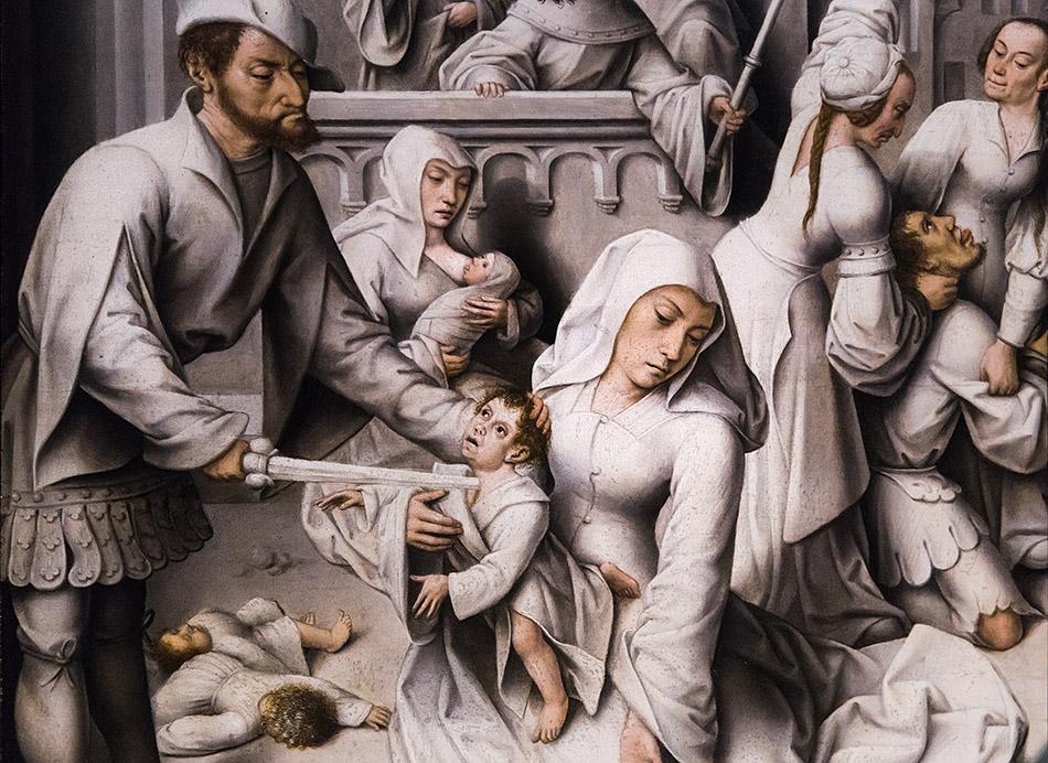 Fabian Fröhlich, Staatsgalerie Stuttgart, Meister von Frankfurt, Der Bethleheminiscvhe Kindermord